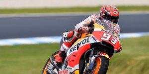 MotoGP Phillip Island: Pole für Marquez, Dovizioso nur Elfter
