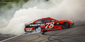 NASCAR: Kansas-Sieg für Truex Jr., Playoff-Aus für Larson