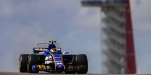 Sauber: Unsauberes Magnussen-Doppel in Austin