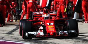 Formel-1-Strategieanalyse: Darum platzte Ferraris Vettel-Finte