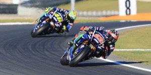 Valencia-Test: Rossi und Vinales noch mit vielen Baustellen