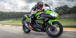 Kawasaki Ninja 400 2018: Bilder, Technische Daten, Markstart