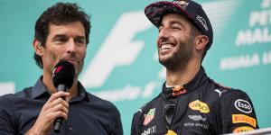 Formel-1-Live-Ticker: Droht Ricciardo das Webber-Schicksal?