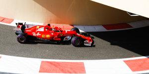 Formel 1 Abu Dhabi 2017: Vettel fährt Auftakt-Bestzeit