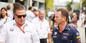 """Zank um """"Haifischflosse"""": Red Bull attackiert McLaren"""
