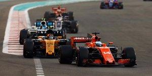 """Renault: Prost hofft 2018 auf """"positiven Druck"""" durch McLaren"""