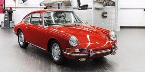 Oldtimer-Ausstellung: Porsche-Museum zeigt ältesten 911