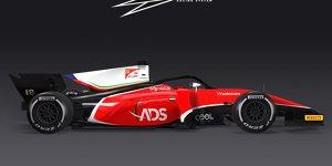 Formel 2 2018: Rookie-Team wird Ferrari-Talentschmiede