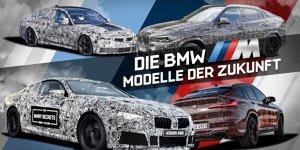 BMW M: Die Modelle der Zukunft