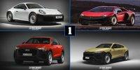 So gut sehen teure Autos als absolute Basisversionen aus
