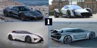 Die faszinierendsten Elektro-Supersportwagen