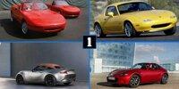 Mazda MX-5: 30 Jahre Roadster-Historie in Bildern