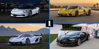 Der exklusive Club der 1.000-PS-Autos