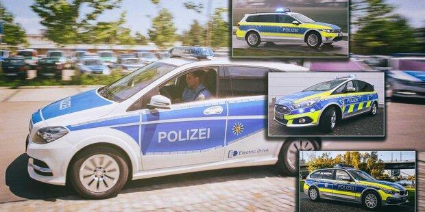 Alte Bekannte und skurrile Modelle: Das fahren Bereitschaftspolizei und Bundespolizei in Deutschland ...