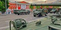 16 interessante Militärfahrzeuge von Russlands Siegesparade 2020