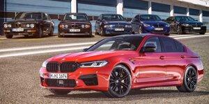 BMW M5 (1985-2020): Die Geschichte im Überblick