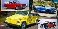 Vom Käfer zum T-Roc: Die Geschichte der Cabriolets bei VW