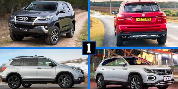 Platz für neue Modelle ist immer noch vorhanden. Hier sind 10 SUVs, die wir uns auch in Europa vorstellen können ...
