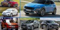 Strom ohne Stecker: Vollhybrid-Autos (2021) in der Übersicht