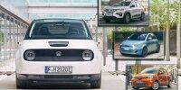 10 kleine Elektroautos für die Stadt in der Übersicht