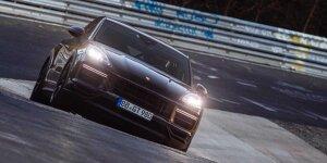 Porsche Cayenne Coupe knackt SUV-Rekrod auf der Nordschleife