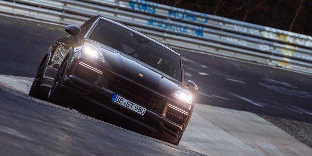Mysteriöses Porsche Cayenne Coupé knackt Nordschleife-Rekord