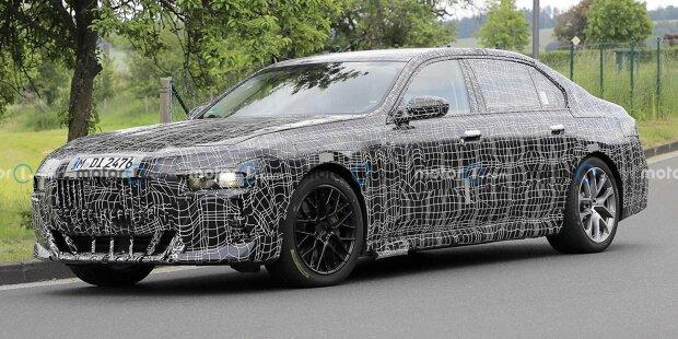 BMW 7er (2023) Erlkönig