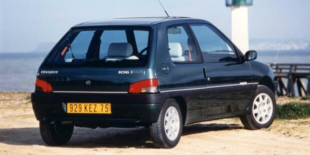 30 Jahre Peugeot 106