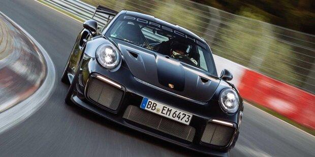 Porsche 911 GT2 RS Manthey Performance Kit Nürburgring-Rekord