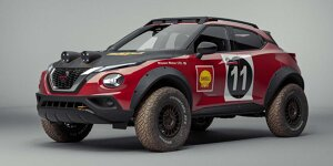 Nissan Juke Rally Tribute Concept: Irre Offroad-Studie