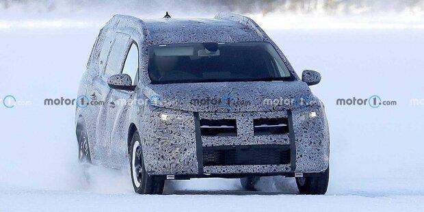 Dacia-Kombi auf Logan-Basis auf neuen Erlkönigbildern