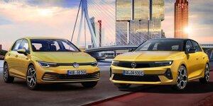 Neuer Opel Astra und VW Golf 8 im ersten Vergleich