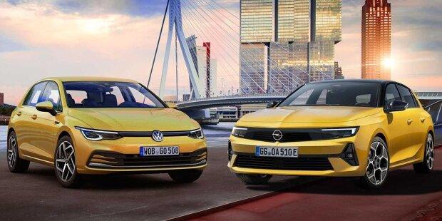 Opel Astra 2021 vs. VW Golf 2021
