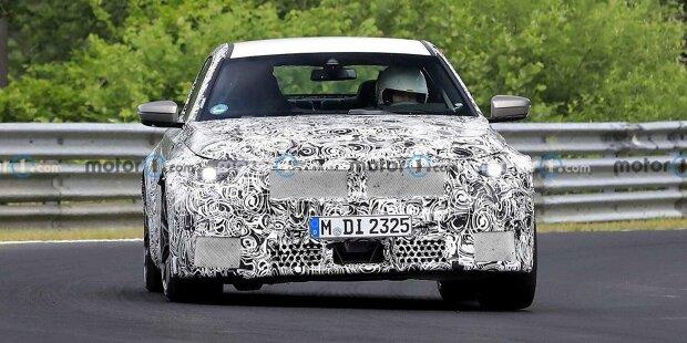 2023 BMW M2 neues Spionagefoto (auf dem Nurburgring)