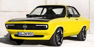 Opel Manta GSe ElektroMOD und Opel Astra L