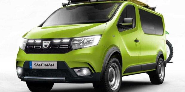 Dacia Sandman: Preiswerter Camper