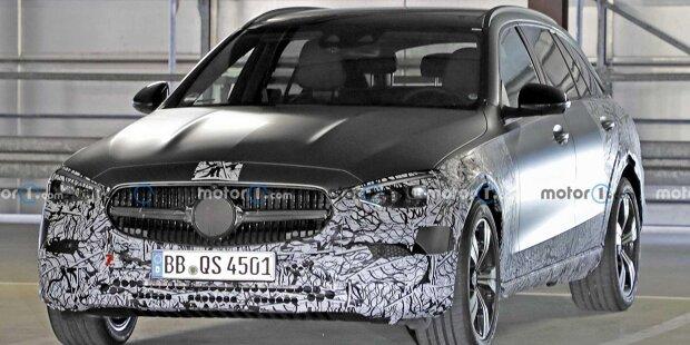 Mercedes C-Klasse All-Terrain (2022) als Erlkönig