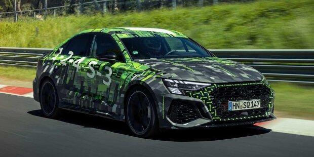 Audi RS3 Sedan stellt Rundenrekord im Nürburgring für Kleinwagen