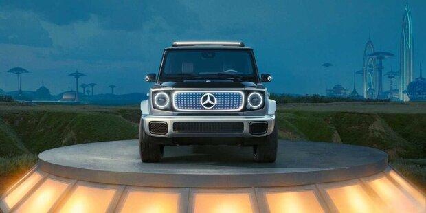 Mercedes-Benz Concept EQG Seitenansicht