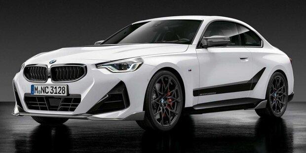 BMW 2er Coupe (2022) mit M Performance Parts