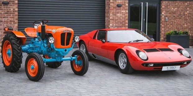 Lamborghini 1R, trattore restaurato del 1966