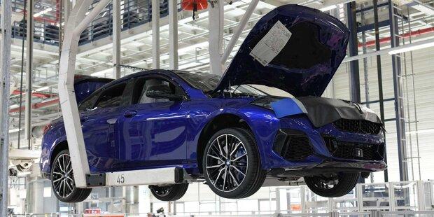 BMW 1er und 2er Gran Coupé mit Individual-Lackierung