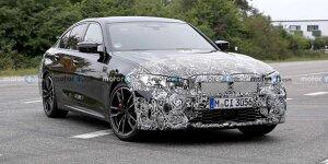 Neuer BMW 3er (2022) als M340i-Erlkönig erwischt