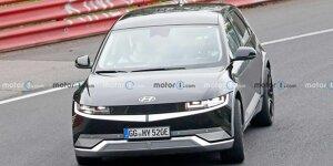 Hyundai Ioniq 5 N Erlkönig testet am Nürburgring