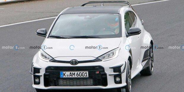 Toyota GR Yaris: Erlkönigfotos vom Nürburgring