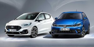 Ford Fiesta vs. VW Polo: Facelifts im ersten Vergleich