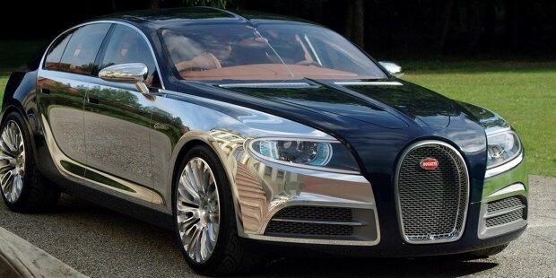 Im Jahr 2009 präsentierte Bugatti die Designstudie 16C Galibier