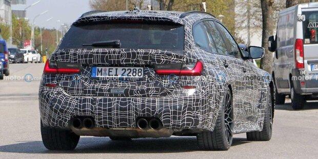 BMW M3 Touring (2022) als Erlkönig