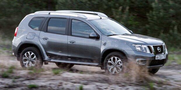 Nissan Terrano für Russland (Dacia Duster)