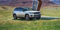 Neuer Jeep Grand Cherokee (2022): Jetzt auch als Plug-in-Hybrid